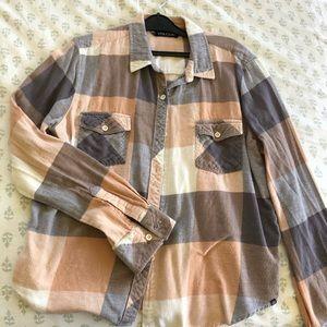 Volcom women's flannel size M